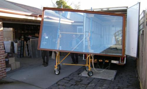 Nomad installing window 2